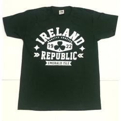 Camiseta verde botella Republica de Irlanda 1922