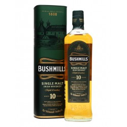 Whisky irlandés Bushmills Single Malt 10 años
