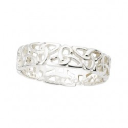 "Anillo Celta ""Trinity Band"" Plata"
