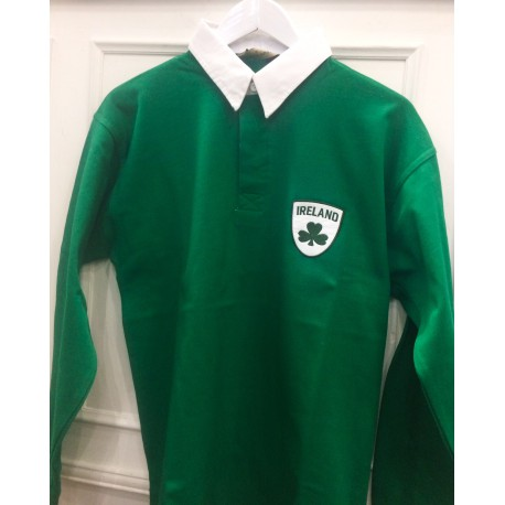 "POLO RUGBY VERDE ""IRELAND"""